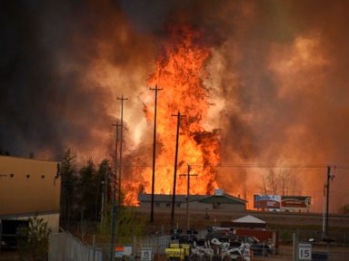 Wildfire Forces Evacuation of City in Canada