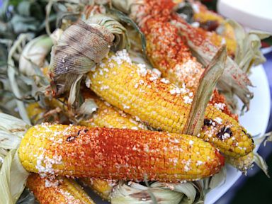 PHOTO: Tyler Florences Grilled Corn on the Cob