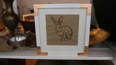 PHOTO: DIY picture frames on a budget