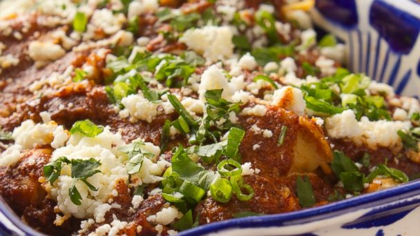 PHOTO: Emeril Lagasses Layered Turkey Enchiladas
