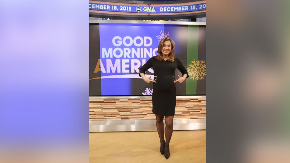 abc news chief meteorologist ginger zee welcomes a son