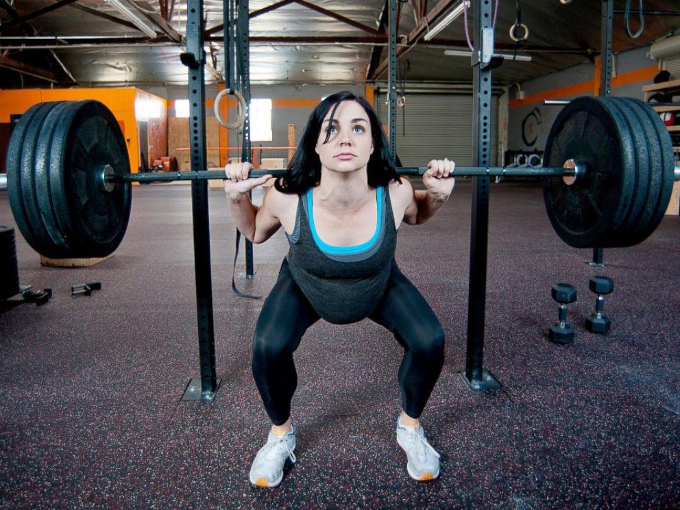 pregnant women take on extreme sports abc news