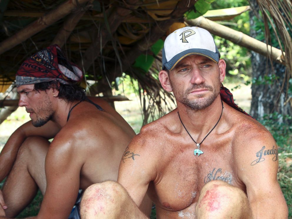 PHOTO: Brad Culpepper of the Tadhana Tribe during the fourth episode of Survivor: Blood vs. Water.