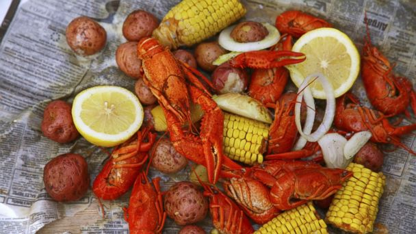 PHOTO: Louisiana crawfish, a traditional New Orleans dish, is pictured here.