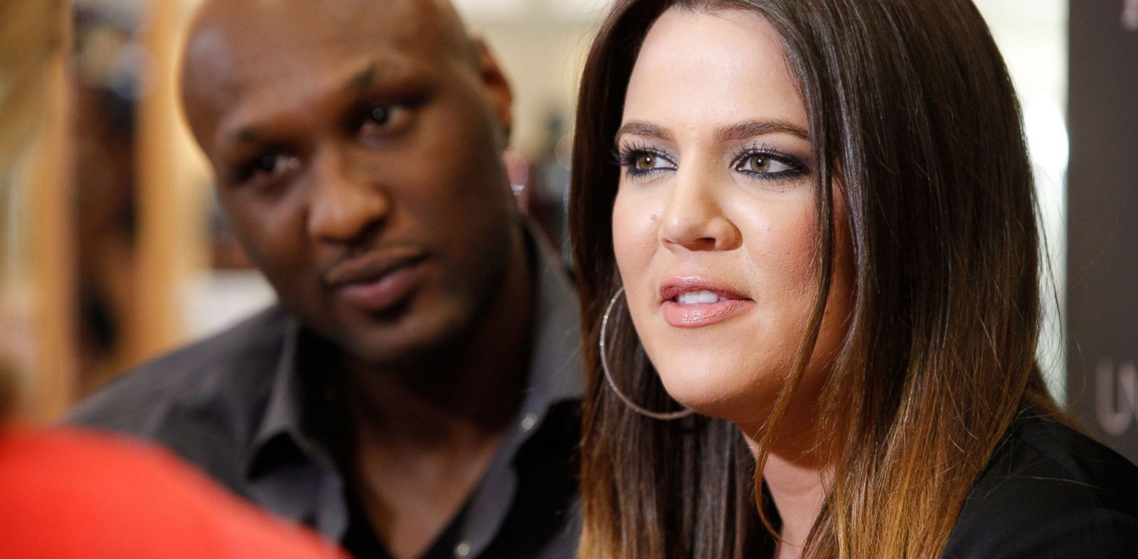 PHOTO: In this file photo, Lamar Odom, left, and Khloe Kardashian, right, make an appearance on Jun. 7, 2012 in Orange, Calif.