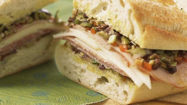 PHOTO: Muffaletta sandwich, a traditional New Orleans dish, is pictured here.