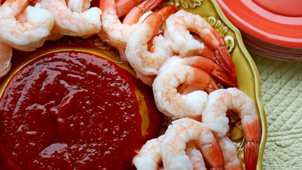 PHOTO: Shrimp cocktail is one of the simple swaps to save calories at a holiday party.