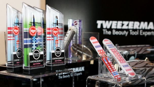 PHOTO: A general view of the Tweezerman display at the IT Lounge Portrait Studio Presenting Patrick Demarchelier Brought To You By RW&CO during the 2012 Toronto International Film Festival in Toronto, Sept. 7, 2012.