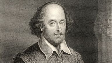 PHOTO: English poet and dramatist William Shakespeare, 1564-1616, is pictured in an engraving by William Holl, circa 1800.