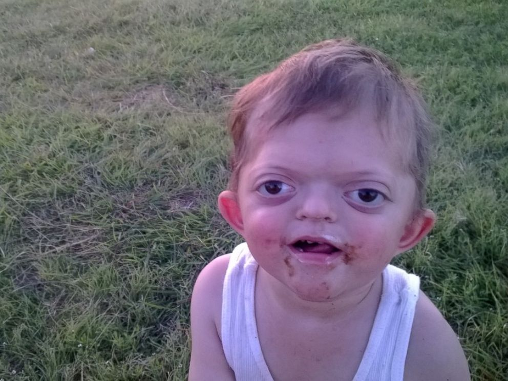 PHOTO: Jameson Meyer, 4, was found victim of Internet bullying on Jan. 30 after his mother AliceAnn discovered a meme was created using this photograph.