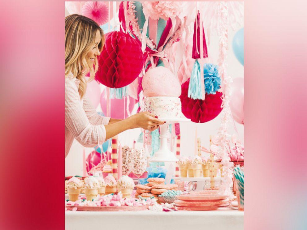 PHOTO: Lifestyle guru Lauren Conrad shares her tips in her new book, Lauren Conrad Celebrate.