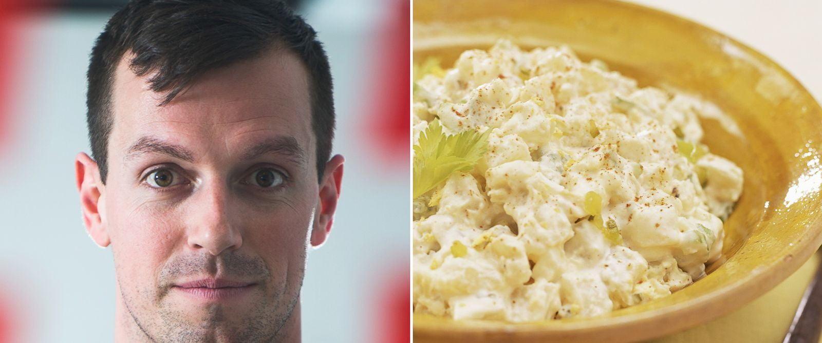 PHOTO: Zach Brown created a Kickstarter goal of $10 to make potato salad, and he has since raised over $10,000.