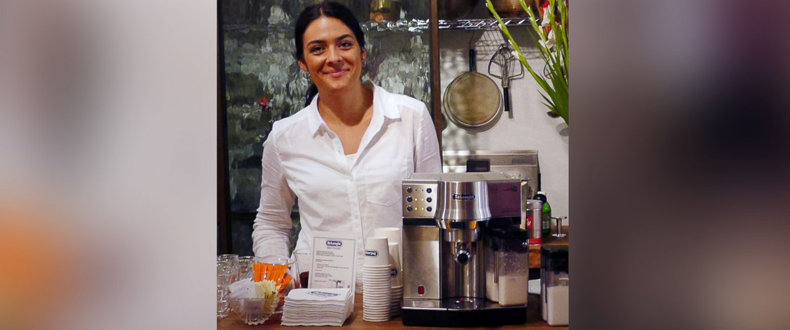 PHOTO: U.S. barista champ Laila Ghambari provides at-home tips for brewing coffee.