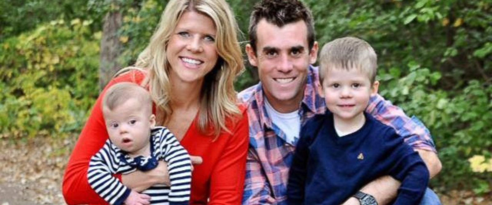 PHOTO: Carissa and Chris Carroll and their sons Jack and Luke.