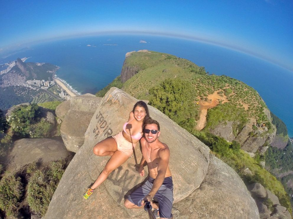 PHOTO: Leonardo Pereira and his girlfriend Victoria Nader consider themselves adventurers.