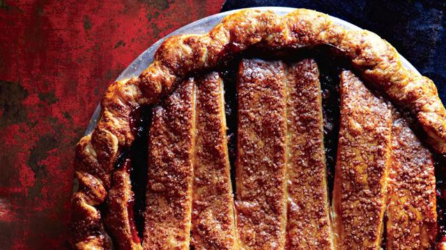 PHOTO:Cranberry sage pie from Four & Twenty Blackbirds pie shop.