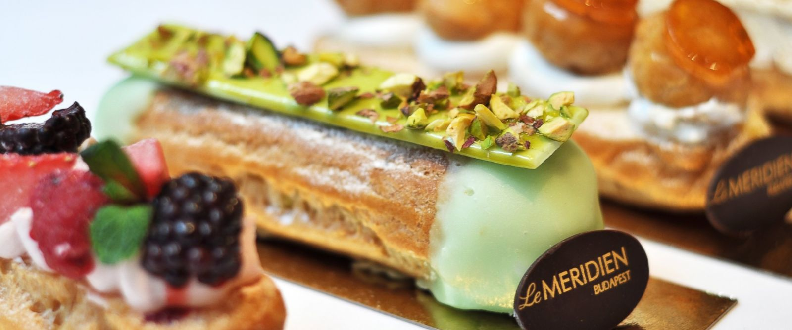PHOTO: Le Meridiens new regionally inspired eclairs in Budapest.