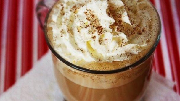 PHOTO: Eggnog latte.