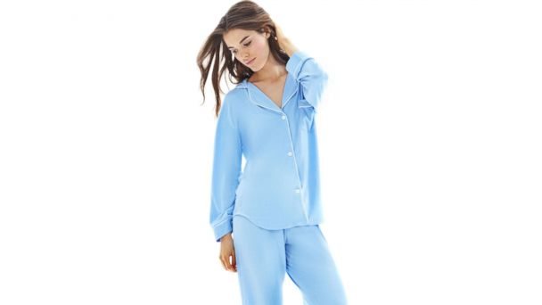 PHOTO: This Lurin long pajama set is available from Marigot for $155.