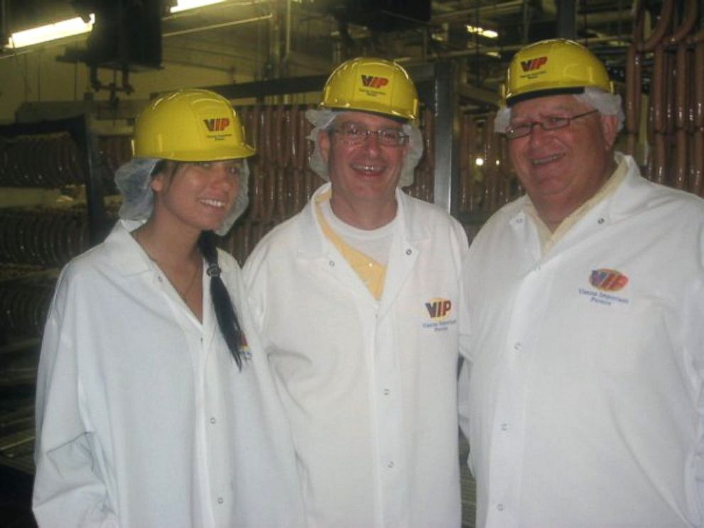 PHOTO: Students get a tour of the Vienna Beef factory to learn how hot dogs are made.