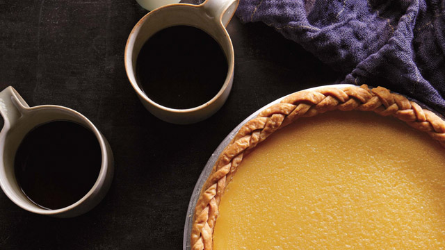 PHOTO:Lemon chess pie from Four & Twenty Blackbirds pie shop.
