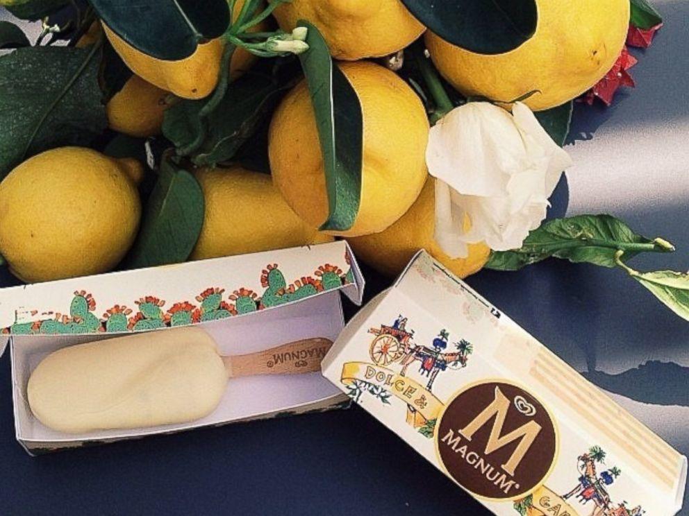 PHOTO: Magnums take on a fashion-forward dessert.
