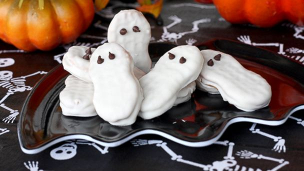 PHOTO: Nutty ghosts recipe from Our Best Bites.