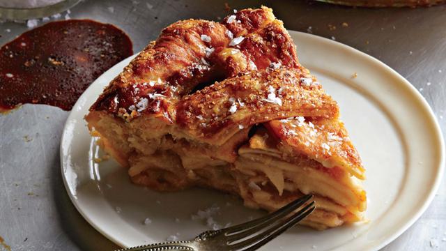 PHOTO:Salted caramel apple pie from Four & Twenty Blackbirds pie shop.