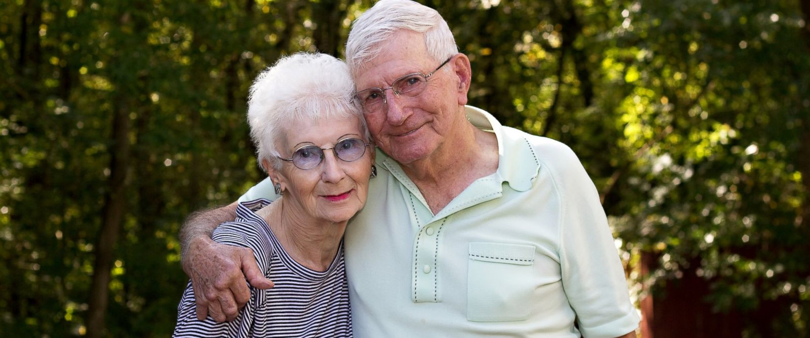 PHOTO: Shirley and Donald Keena photographed by their daughter on the 65th wedding anniversary.