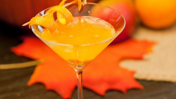 PHOTO:The Sweet and Spooky Creamsicle cocktail from Sparkling ICE.