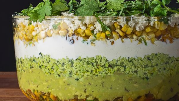 PHOTO: Tasting Tables Cinco de Mayo recipe for Seven Layer Dip.