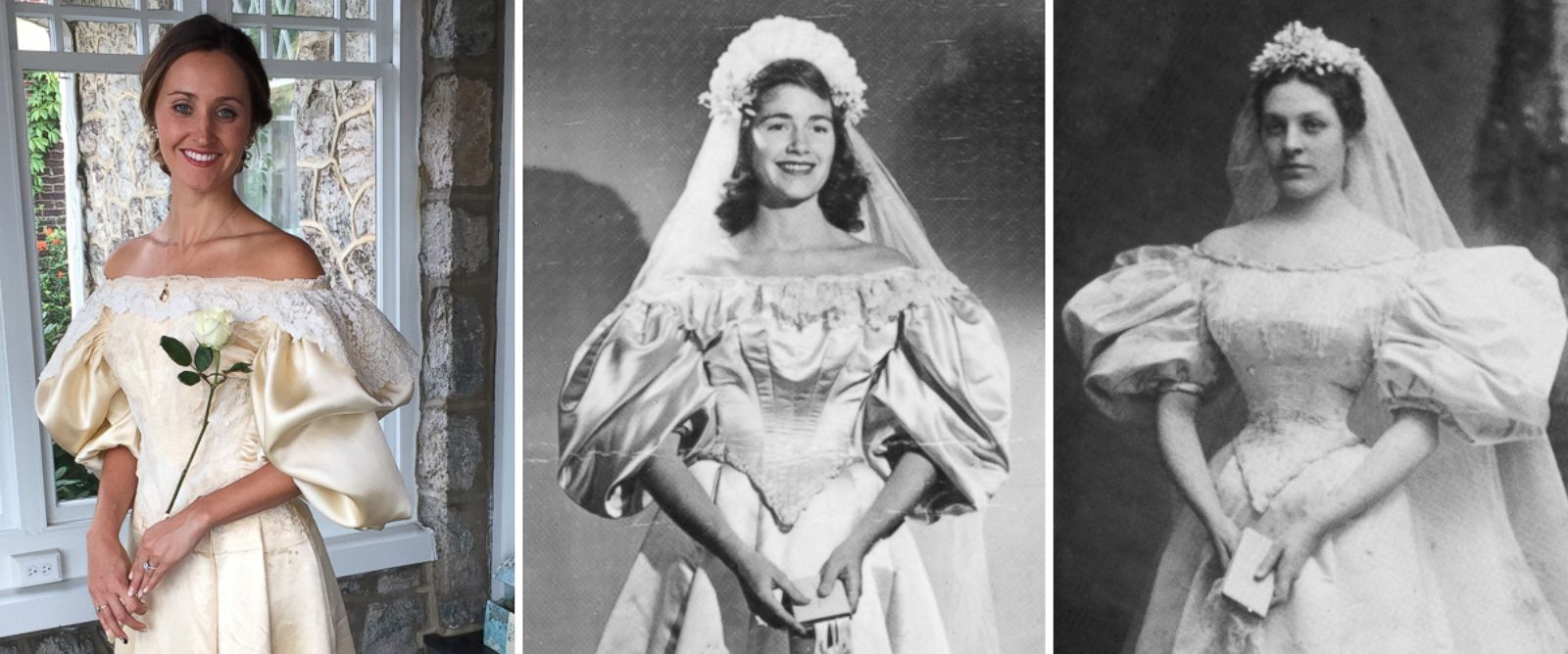 How this bride restored her 120 year old family heirloom for Restoring old wedding dresses