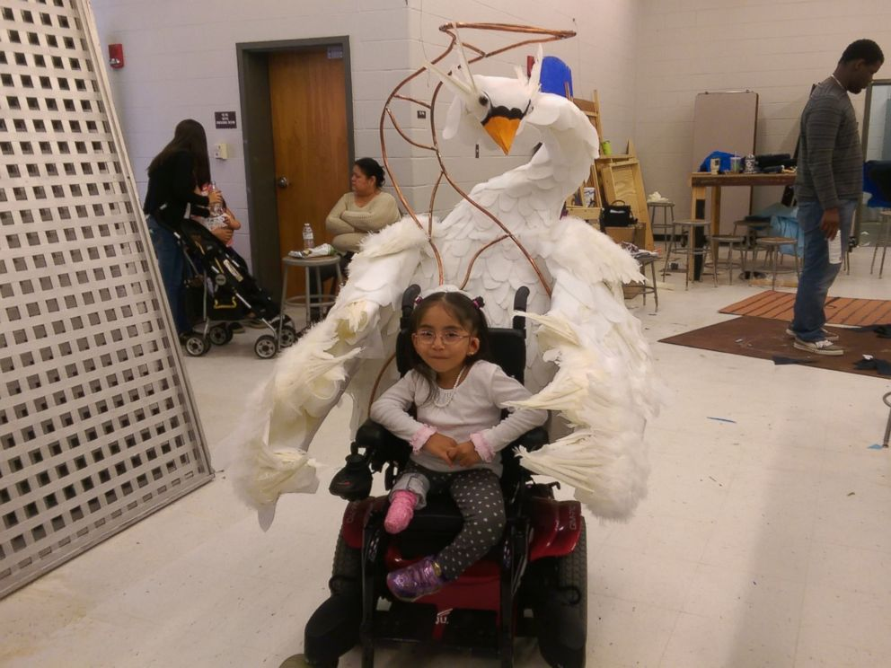 PHOTO: These Kids' Tricked Out Wheelchair Costumes Are Major Halloween Treat