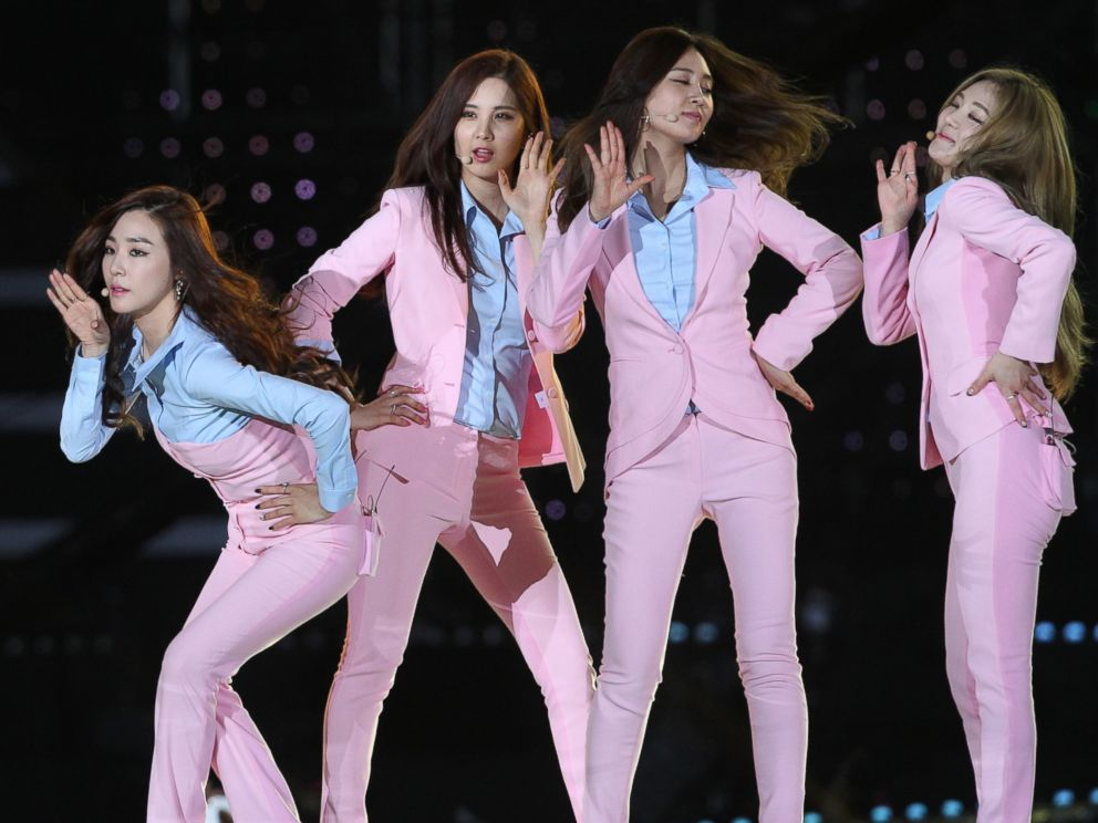 PHOTO: Girls Generation perform onstage during the 2014 Dream Concert at Seoul World Cup Stadium on June 7, 2014 in Seoul, South Korea.