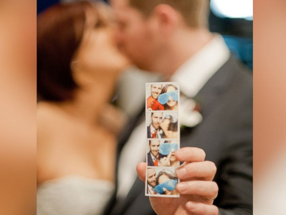 PHOTO: Photobooths have become ubiquitous at weddings in recent years.