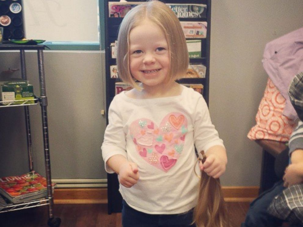PHOTO: Arianas hair will help a child with medical hair loss.