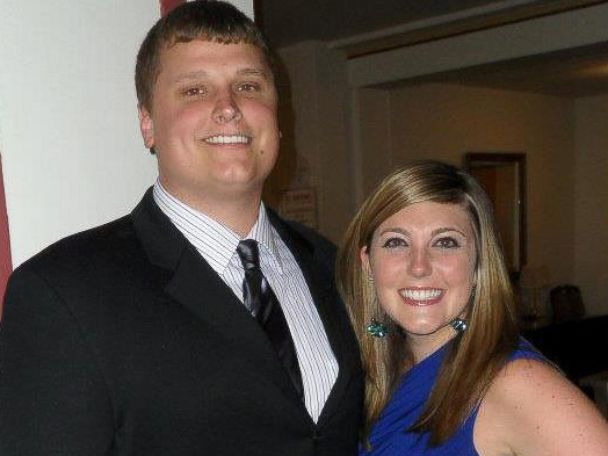 PHOTO: Ben and Natalie Bell got the surprise of a lifetime at their babys gender reveal party.
