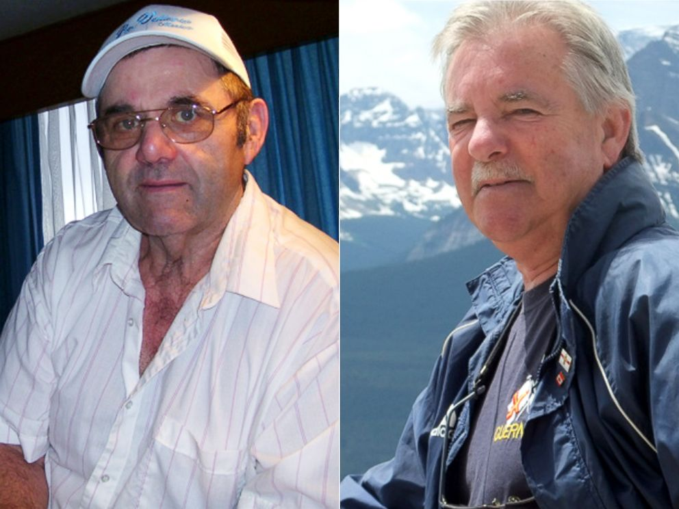 PHOTO: Ron Cole, left, and Duncan Cumming discovered as adults that they are biological brothers.