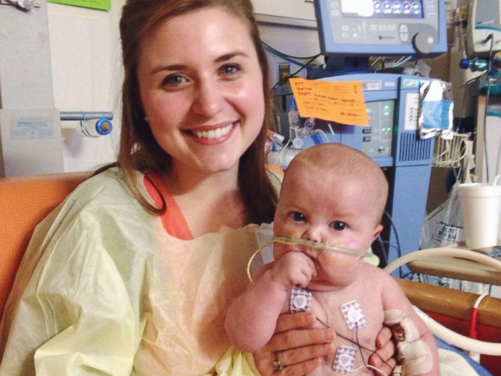 PHOTO: Lexi Behrndt is pictured with her son Charlie, who passed away in October. Behrndt reached out to other moms of chronically and critically ill children on her blog, Scribbles and Crumbs.