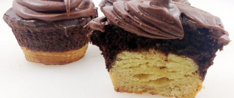 PHOTO: The crupcake, a croissant and cupcake hybrid.
