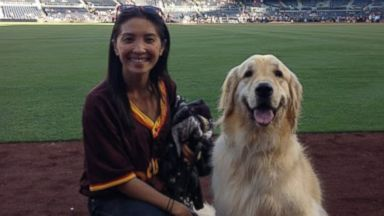 PHOTO: After their 5-year-old dog Kobe was diagnosed with cancer, San Diego couple Sonya and Jeff Mo made a bucket list so he can live the rest of his life happy.