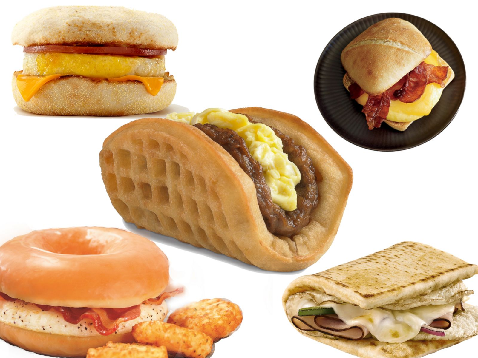 PHOTO: Which fast food breakfast sandwich do you think reigns supreme?