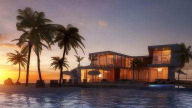 PHOTO: A rendering shows the design for a floating island to be developed in Miami.