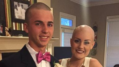 PHOTO: Brayden Carpenter and Allie Allen attended the Collierville High School Homecoming Dance together.