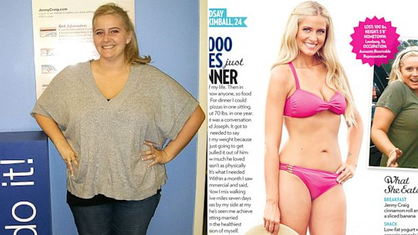 ht lindsay kimball weight loss tk 130809 16x9 608 Women Who Lost 100+ Pounds Share Stories