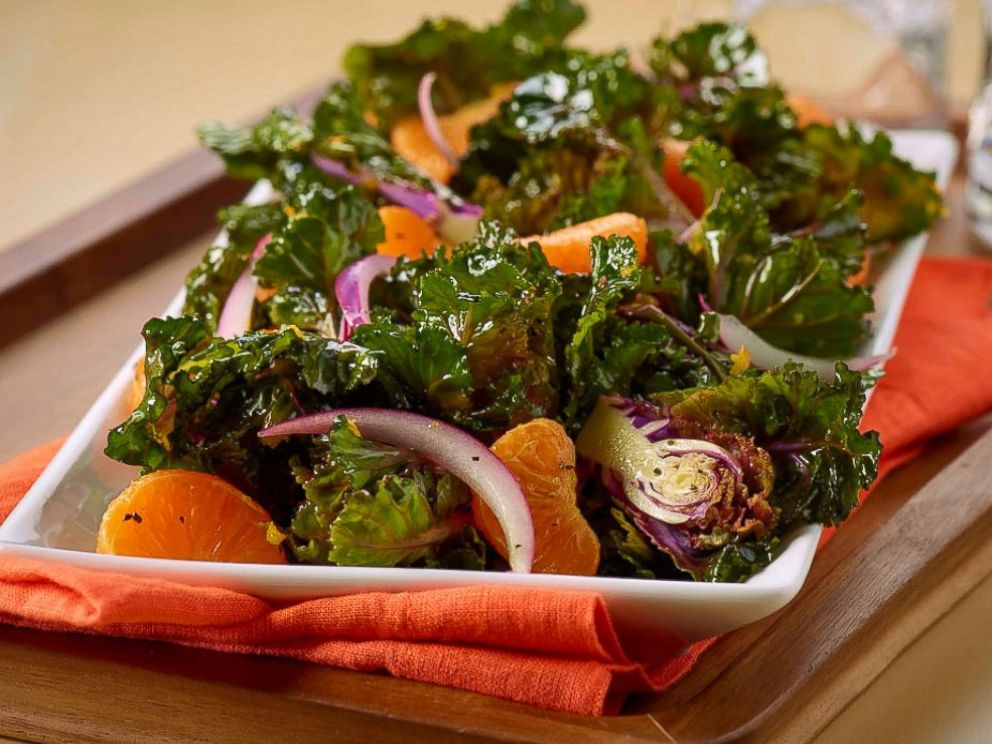 PHOTO: Orange Kalette Salad