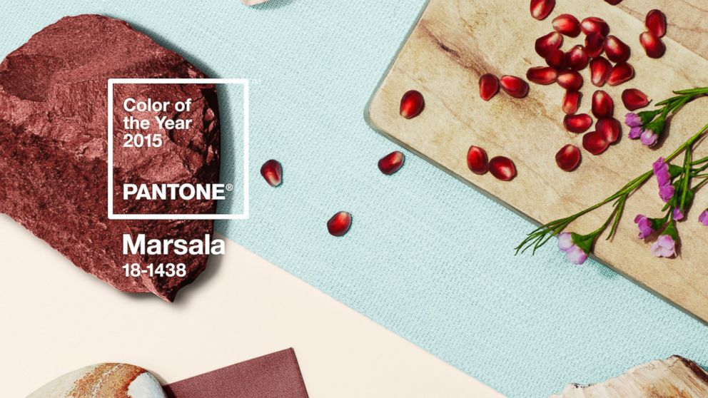 Colors Pantone 2015 Pantone's Color of The Year