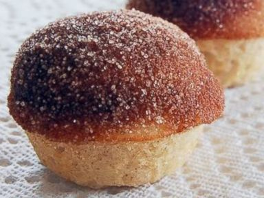 Donut Muffins are seen in this undated handout photo from Girl Who Bakes.