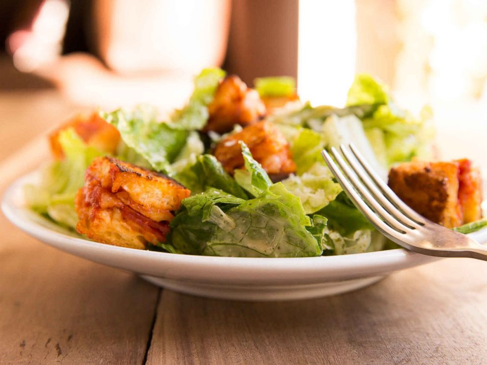 PHOTO: Pizza Croutons