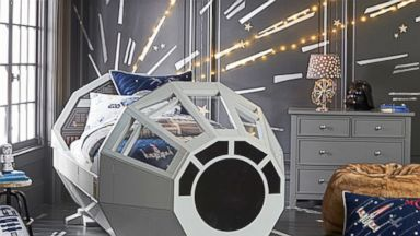 PHOTO: Pottery Barn Kids released this Star Wars themed bed.